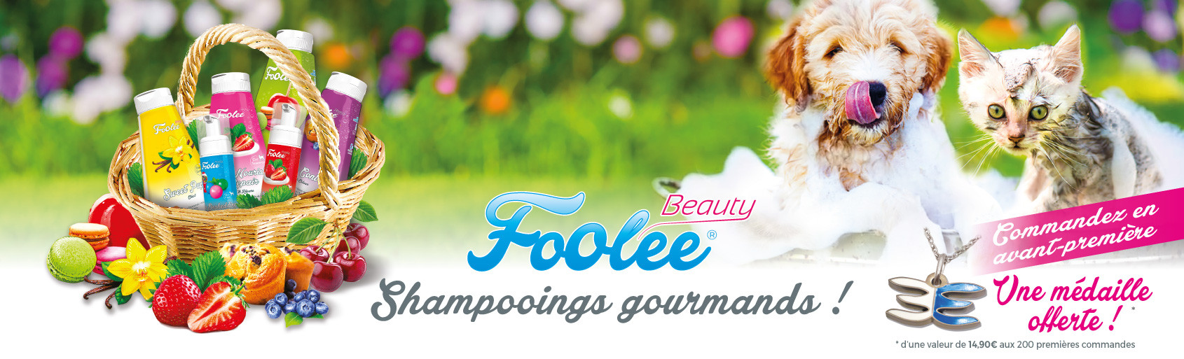 Foolee Beauty, Shampooings Gourmands !